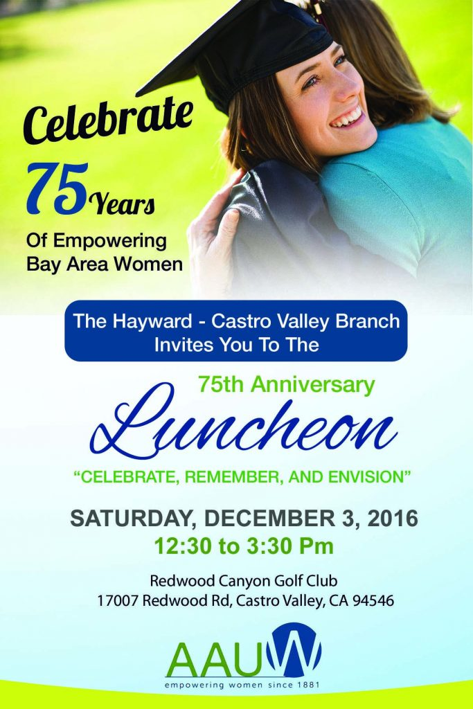 AAUW Hayward-Castro Valley Inc. (CA) | Breaking through ...